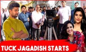 Nani's Tuck Jagadish Movie Opening