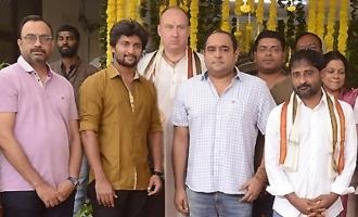 నాని, విక్రమ్ కె.కుమార్ చిత్రం ప్రారంభం