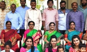 Nandamuri, Nara members pose together