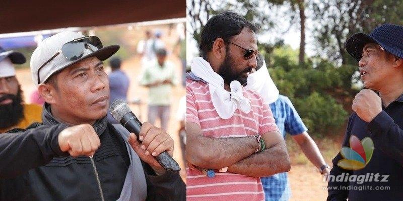 Naarappa: Peter Heins does it for Venkatesh