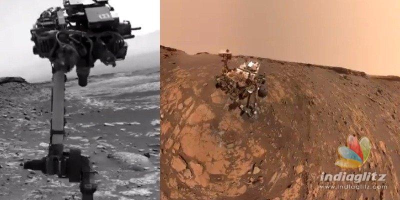 NASAs Curiosity Rover takes a selfie from Mars mountain