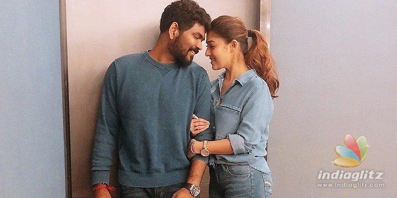 Nayantharas boyfriend celebrates 4th anniversary
