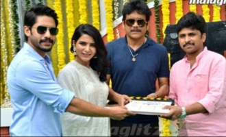 Naga Chaitanya Samantha new movie launch