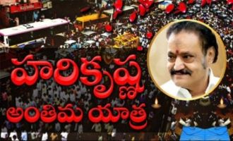 Nandamuri Harikrishna's final journey