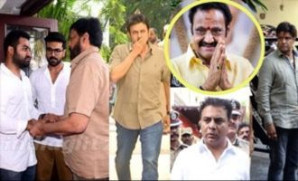 Celebs pay tribute to Nandamuri Harikrishna