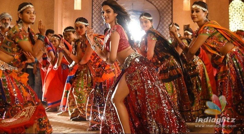 Nidhhi Agerwal scorches it in energetic number