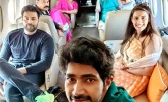 Nagababu family leaves to Rajasthan for Niharika wedding