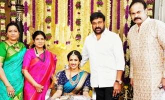 Niharika & family leave for Udaipur for wedding; Naga Babu gets emotional