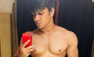 Pic Talk: Nikhil flaunts his body ahead of six-pack abs