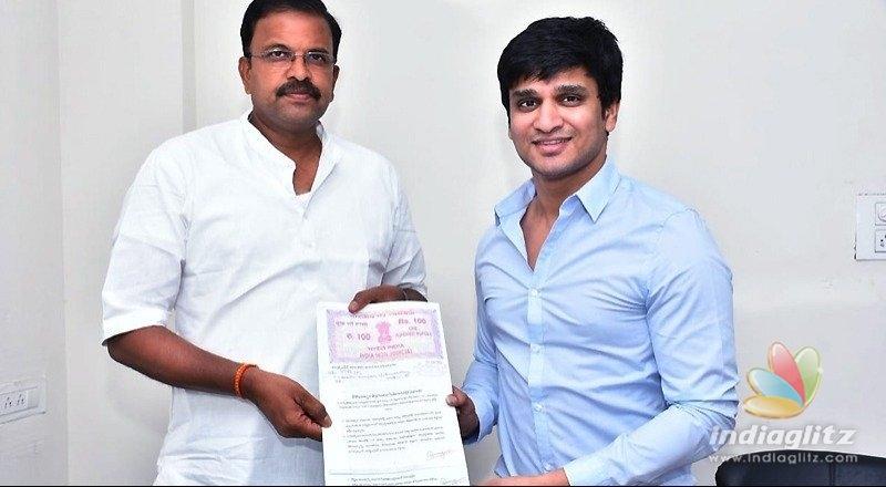 Nikhil Siddhartha supports three candidates