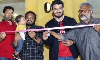 Nikhil Launches Kitchen On Sixteen Wheels Food Truck at Gachibowli
