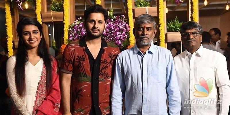 Yeletis movie with Nithiin launched; Rakul, Priya are heroines