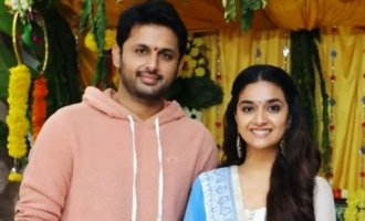 Nithiin and Keerthy to share screen space in Andhadhun remake?