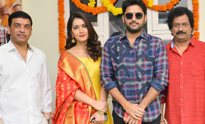 Nithiin's 'Srinivasa Kalyanam' Movie Launch