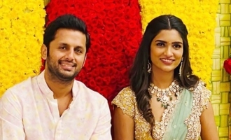 Nithiin gets engaged to Shalini!