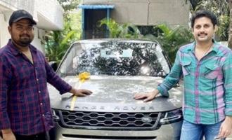 Nithiin gifts a swanky luxury car to Venky Kudumula on his birthday
