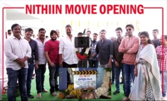 Nithiin And Merlapaka Gandhi New Movie Opening | #Nithiin31 | Nikitha Reddy