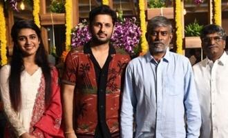 Yeleti's movie with Nithiin launched; Rakul, Priya are heroines