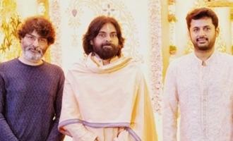 Pawan Kalyan, Trivikram grace Nithiin's 'Pelli Koduku' function