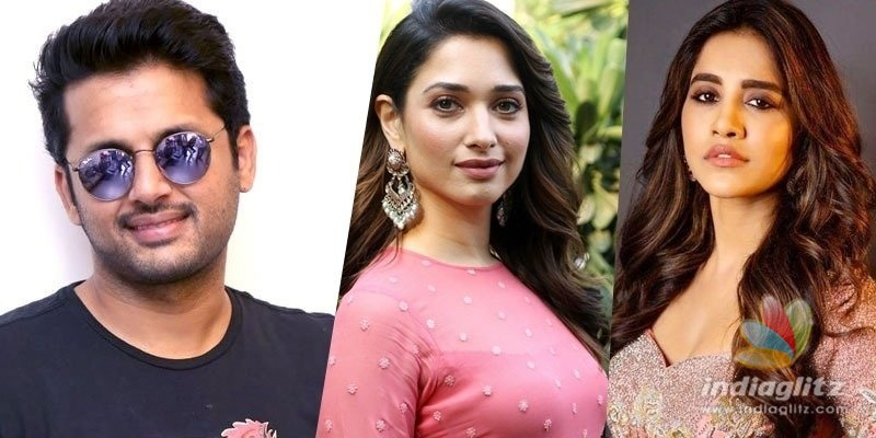 Andhadhun remake: Nithiin teams up with Tamannaah, Nabha Natesh