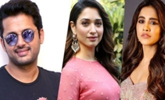 'Andhadhun' remake: Nithiin teams up with Tamannaah, Nabha Natesh