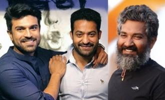 NTR-Ram Charan duo teases Rajamouli!