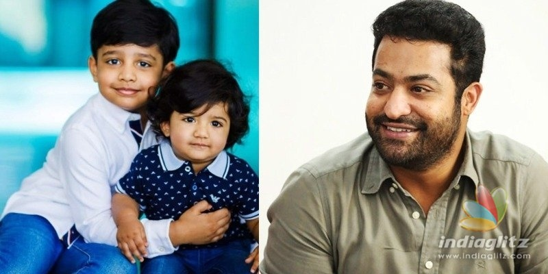 NTR and his sons bond big time during the lockdown!
