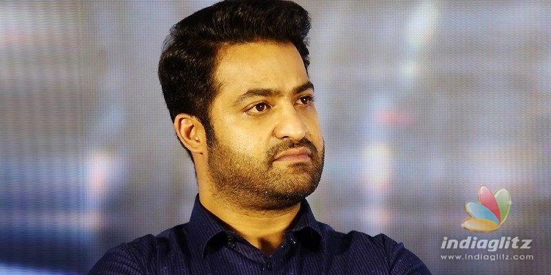 NTR look from RRR gets leaked
