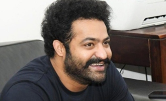 Leaked! Jr NTR plays volleyball with director, others