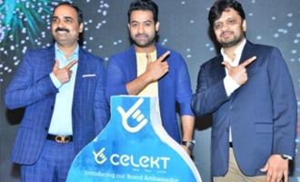 NTR Announced As Celekt Mobiles Brand Ambassador