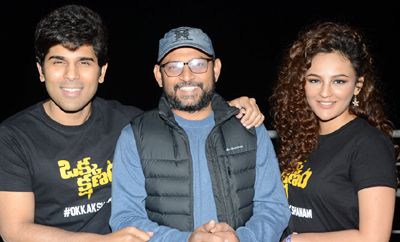'Okka Kshanam' Thanks Meet