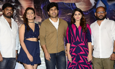 'Okka Kshanam' Teaser Launch