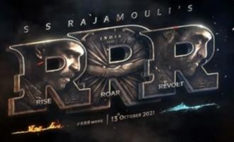 Pic Talk! 'RRR' actress enjoys Hyderabad rains