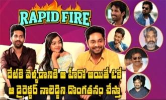 Rapid Fire With O Pitta Katha Team