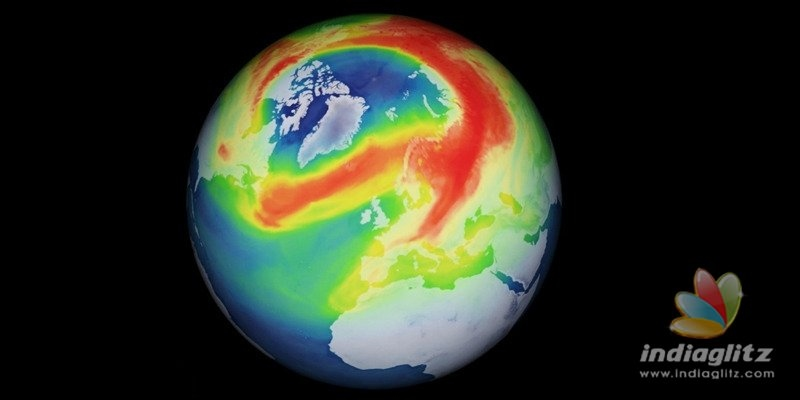 Ozone layer above Arctic develops a gigantic hole