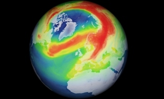 Ozone layer above Arctic develops a 'gigantic hole'