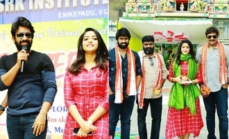'Palasa 1978' Team Promotions Tour In Vijayawada