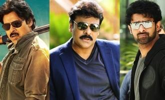Titles of Pawan Kalyan, Chiru, Prabhas' movies revealed