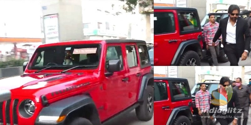 Pic Talk: Pawan Kalyan spotted using his new Jeep