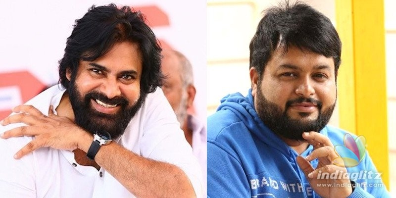 Pawan Kalyan gives ultimate fanboy joy to Thaman