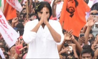 Pawan Kalyan the powerful crowd puller