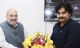 Do not privatize Vishaka steel Pawan Kalyan requests Amit Shah