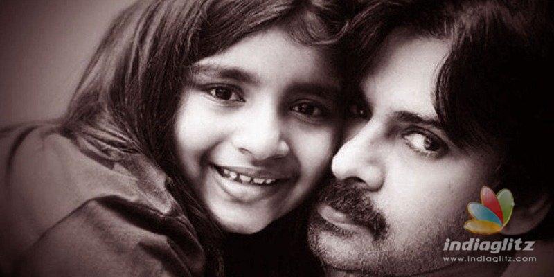 Pawan Kalyans daughter to appear on TV show