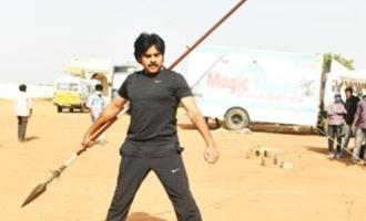 Viral Pics! Pawan Kalyan gets trained in martial art
