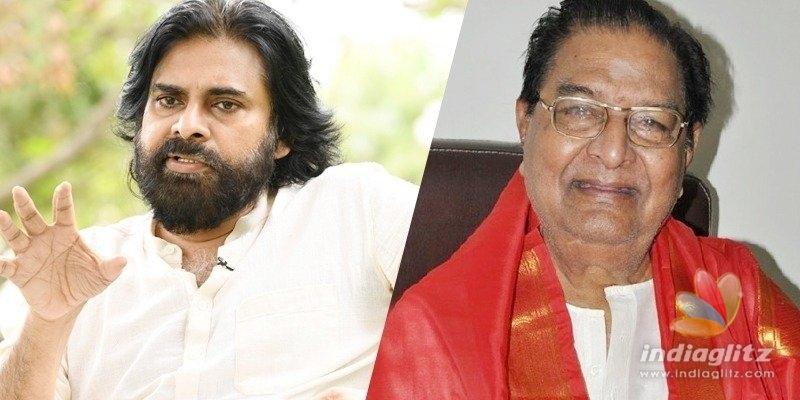Pawan Kalyan urges Padma Shri for Kaikala Satyanarayana