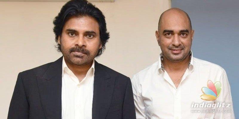 Pawan Kalyan-Krishs film: Action episodes being filmed