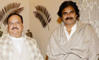 Pawan Kalyan raises Tirupati by-poll, temple desecration issues with JP Nadda