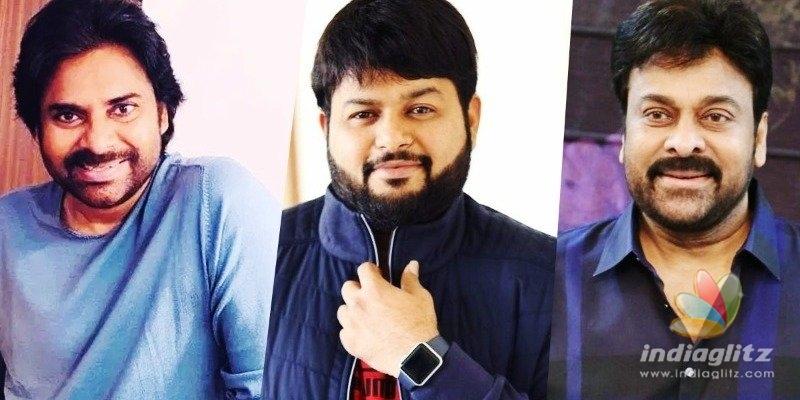 After Pawan Kalyans films, Thaman lands a Chiranjeevi film offer!