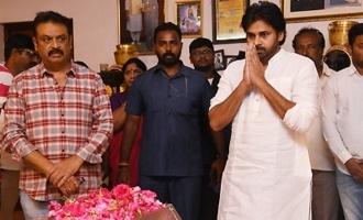 Pawan Kalyan Pay Homage To Vijaya Nirmala