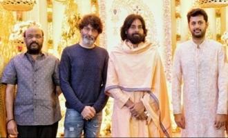 Powerstar Pawan Kalyan At Nithin Pre Wedding Event |  IG Telugu